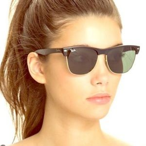 Ray Ban Oversized Clubmaster Sunglasses